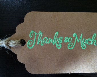 Wedding Favor or Party Thank You Tags