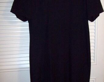 Vintage Kasper's Little Black Dress Brocade Trim , Elegant Understated Find   12