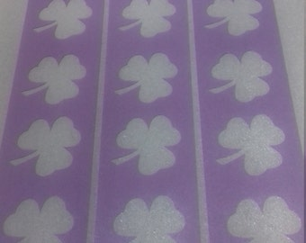 3 x Shamrock wall decor stencils for decoration craft hobby borders - gift present Ireland Irish
