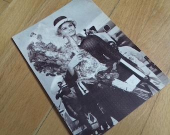 Vintage used  postcard Sophia Loren