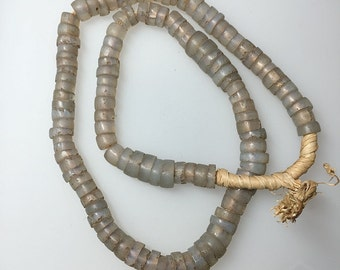 African Trade Moon Beads