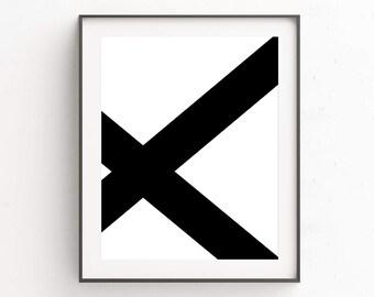 Black and White Art, Scandinavian Art, Geometric Wall Art, Geometric Art, Large Wall Art, Wall Art Prints, Printable Poster, Digital Prints