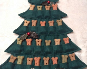 Puppy Treat Tree--Advent Calendar
