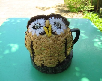 Vintage Tea Cozy - Owl Tea Cosy - Vintage Style for your teapot.