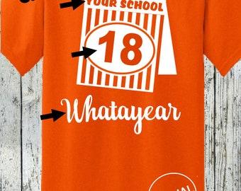 Customize Graduation Year - Last Day of School Tshirt Shirt - Whataburger Food