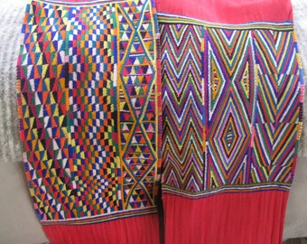 Vintage Hand Woven Guatemalan Sash