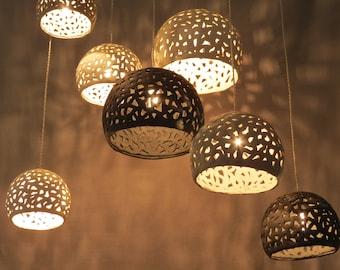 Chandelier. Pandant lamps. Hanging lights. Hanging chandelier. Modern ceiling lighting. Dining room light fixture.