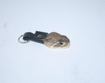 1 Rattlesnake head keychain ...... b183....primitive replica