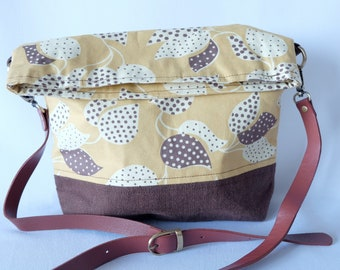 Tote Bag - 'Dotted leaves'