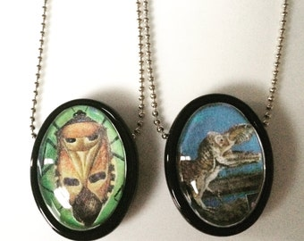 One of a Kind Postage Pendant  Necklace Collection