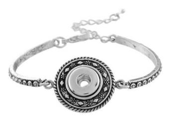 Metal chain for Mini snap bracelet - 18cm