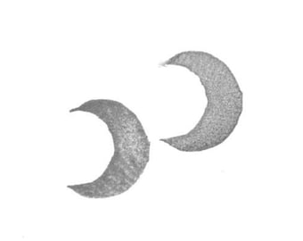 Crescent Moon Rubber Stamp | 012067