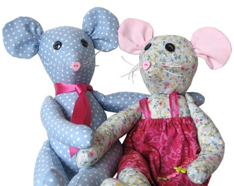 toy pattern, Soft toy mouse pdf, Mouse PDF Pattern, Easy pattern, Soft toy, Plushie pattern, digital download, Millie and Mortimer mouse