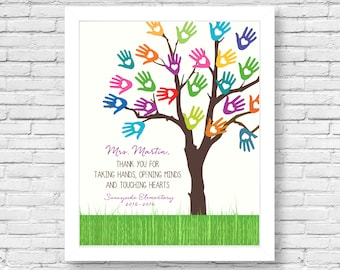 Teacher appreciation- Teacher printable- Teacher gift- Teacher thank you-8x10-11x14