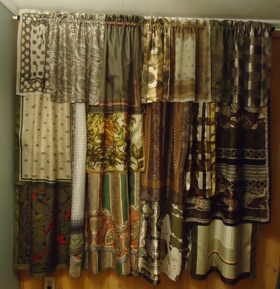 Green And Brown Curtains: Shades Of Sage Green & Brown Gypsy Boho Curtains 63