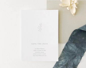 Hope Wedding Save the Date - Sample