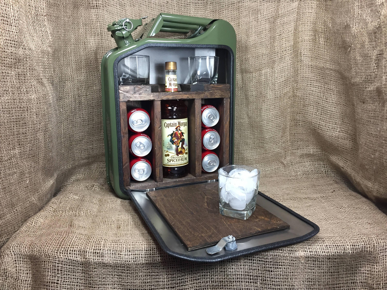 Jerry Can Mini Bar for Sale US seller: bar decor garage