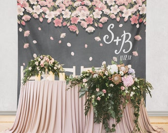 Paper Flower Backdrop Decoration, Paper Flower Wedding Decor, Wedding Engagement Decorations, Bridal Shower Decorations/ W-A02-TP AA3