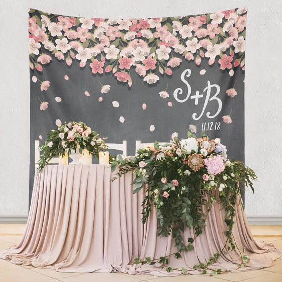 Flower Decoration Ideas For Weddings: Paper Flower Backdrop Decoration Paper Flower Wedding Decor