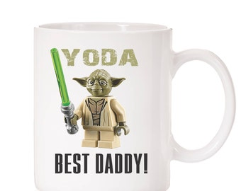 Yodda Best Daddy Mug | Father's Day Mug | Gift For Dad | Father's Day Gift From Son  | Gift From Kids | For Dad | Funny Mug | Star Wars