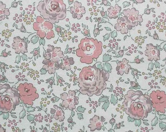 Liberty tana lawn printed in Japan - Felicite - Rose the mix