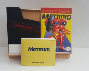NES Metroid NES Classic - Replacement Box No Game Included