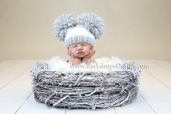 Bird nest newborn baby photography prop infant photo prop