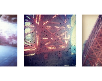 Fort Point, San Francisco Triptych