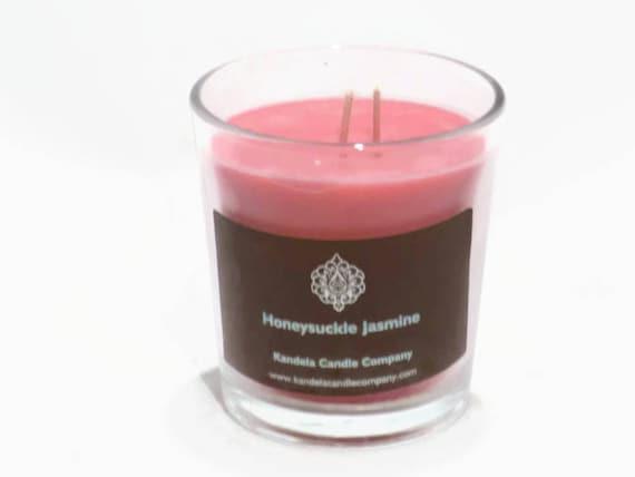 New! Honeysuckle Jasmine Scented Candle in Classic Tumbler