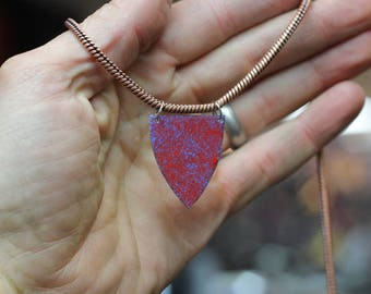 Reversible Copper Necklace