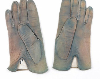 VTG Leather driving gloves