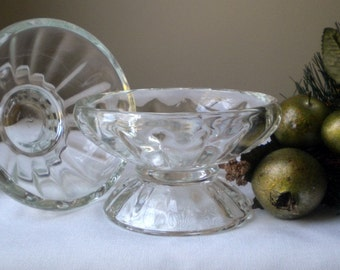 Set of Two Vintage Sherbet Dishes