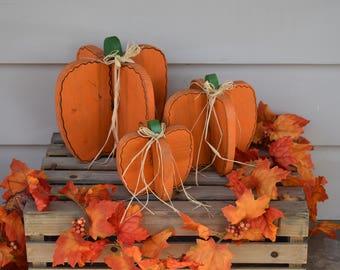 3-Piece Pumpkin Set