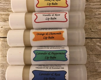 Special Sample Of 6 Different Lip Balms