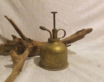 Vintage brass pump