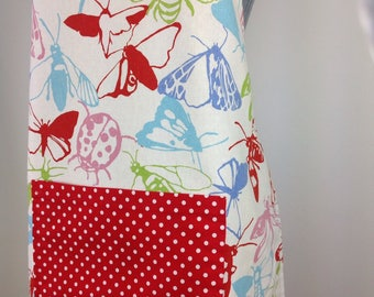 SALE!  SALE!  SALE!                           Reversible apron. Butterfly apron. Full apron. Adjustable apron. Women's apron