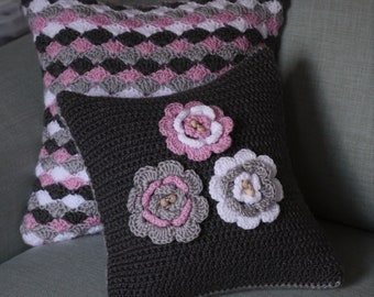 Set of Crocheted Cushions