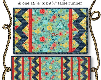 Potluck Quilted Runner Placemat Pattern Download