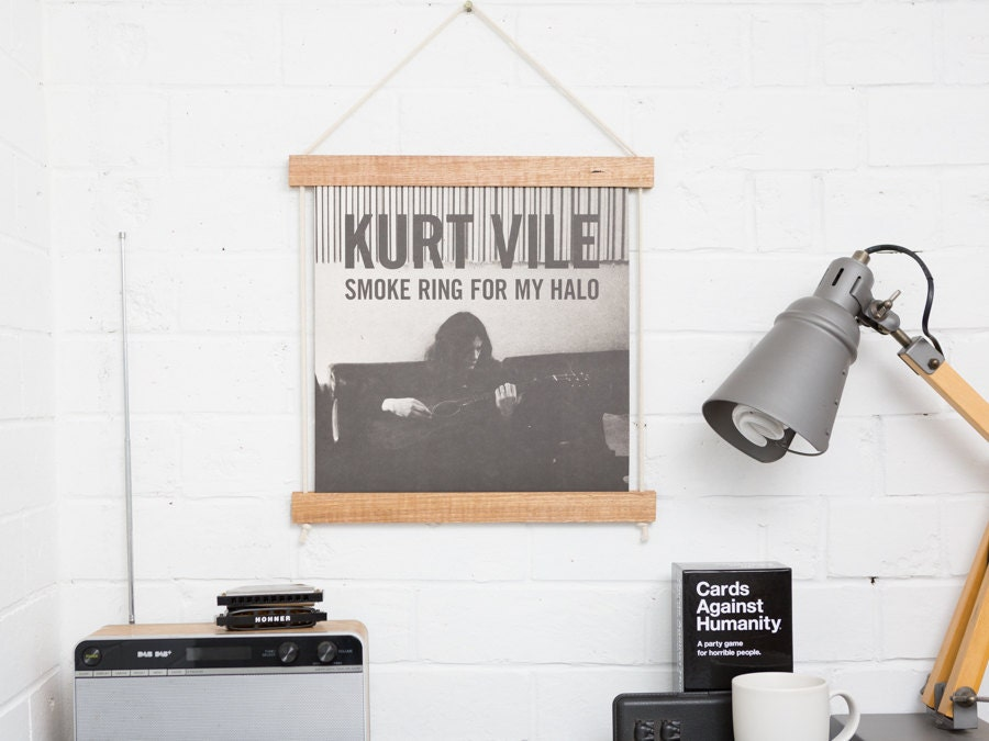 Record Jacket Frame Light Wood Lp Vinyl Record Frame