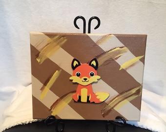 Cute Fox Canvas