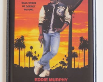 Beverly Hills Cop 2 Movie Poster Fridge Magnet