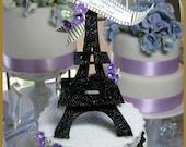 Eiffel Tower Cake Topper...