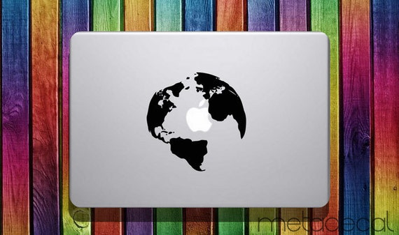 World map macbook sticker decal 11 12 13 gumiabroncs Gallery