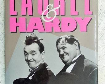 """1992 Book, """"Laurel & Hardy"""" by Annie McGarry, First Hardback Edition with dust jacket"""