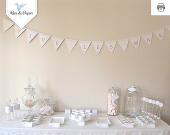 Printable Full kit party for Candy Bar, bridal shower, Hen Party, etc