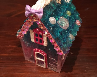 Mermaid fairy house