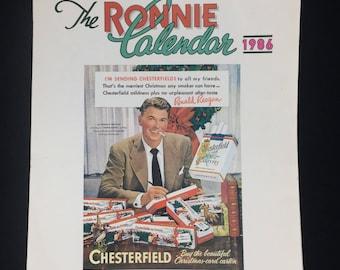 The Ronnie Calendar 1986 - Simon & Schuster Ronald Reagan
