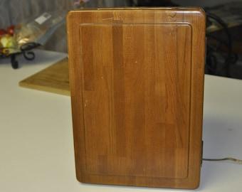 Vintage Casablanca Industries Wood Makeup/Shaving Cabinet