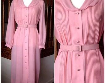 60s Day Dress by Parnes Feinstein - Mid-Century Vintage