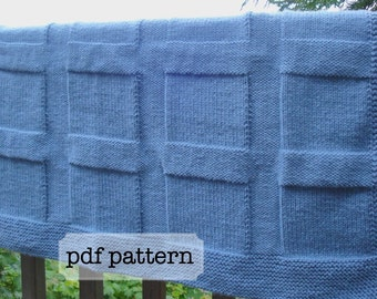 pattern- off the grid throw